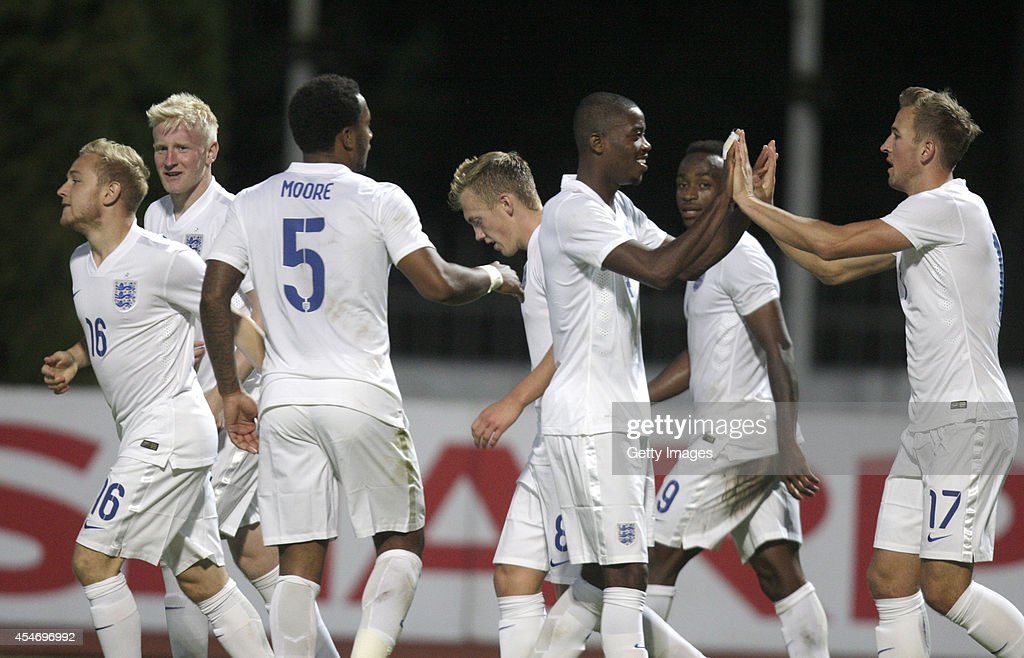 Lithuania v England: UEFA U21 Championship Qualifier 2015 : News Photo