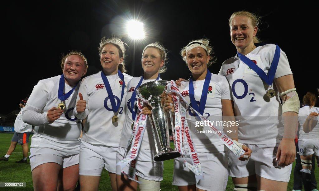 Ireland Women v England Women - Womens Six Nations : News Photo