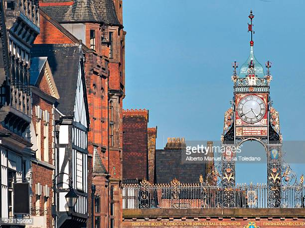 England, Chester, Eastgate street, Eastern Clock