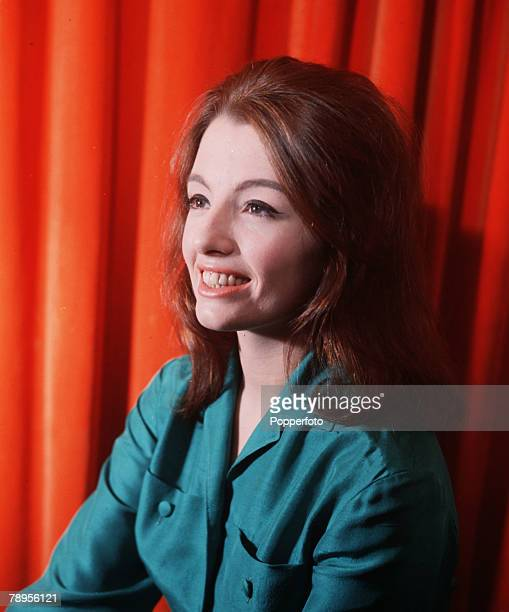 England Circa 1960's A portrait of English model show girl and callgirl Christine Keeler who became embroiled in the Profumo Affair