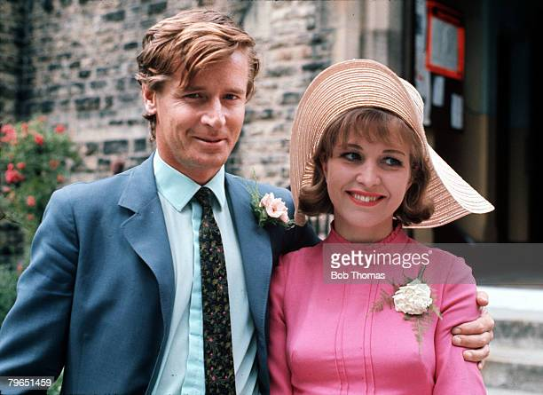 England Circa 1960's Actor William Roache and actress Anne Reid who played husband and wife Ken and Valerie are pictured in a scene from the...