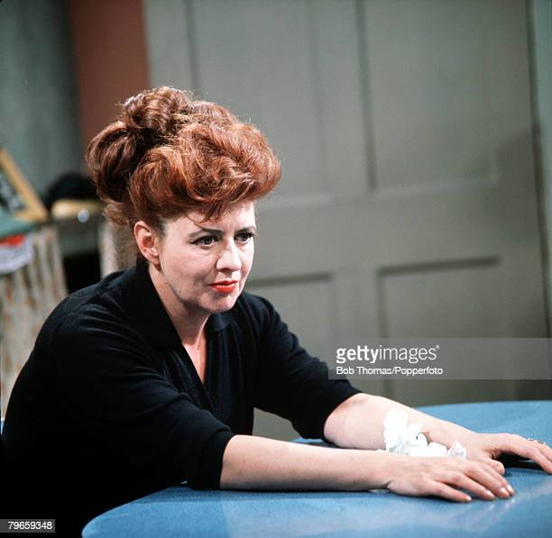 England Circa 1960's Elsie Tanner played by Pat Phoenix is pictured in a scene from the television series Coronation Street