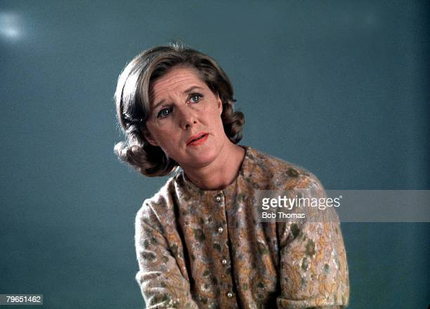 England Circa 1970's A portrait of actress Irene Sutcliffe who played the role of Maggie Clegg in the television series 'Coronation Street'