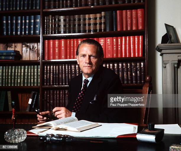 England, Circa 1970's, Lord Rawlinson of Ewell, solicitor and Attorney General in the 1970's
