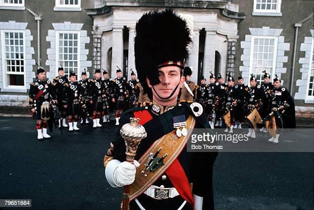 England Circa 1970's The Argyll and Sutherland Highlanders