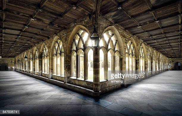 UK, England, Cloister of Durham Cathedral