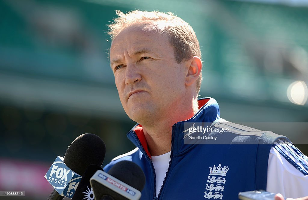 Andy Flower Press Conference : News Photo