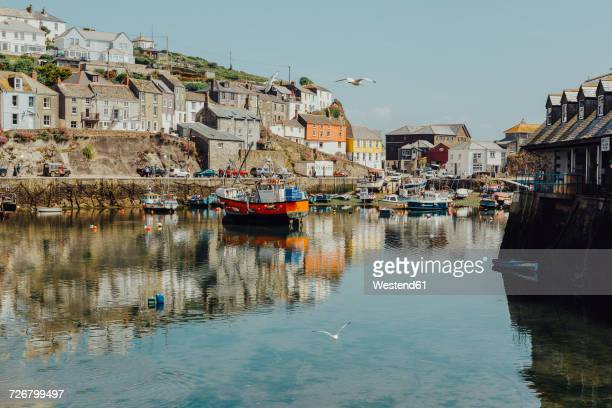 UK, England, Cornwall, fishing harbour in Mevagissey