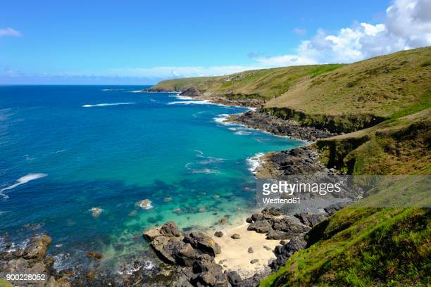 UK, England, Cornwall, rocky coast at Zennor