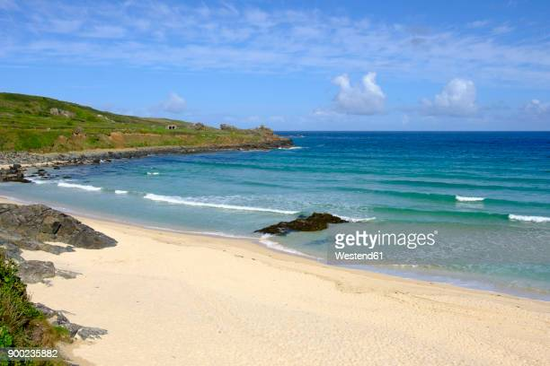 UK, England, Cornwall, St Ives, Porthmeor Beach