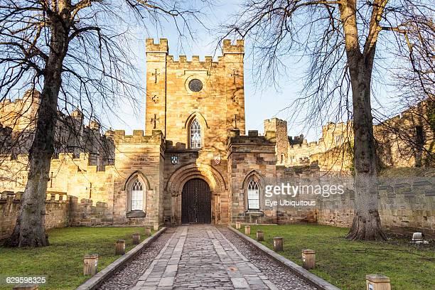 England County Durham Durham Entrance to Durham Castle