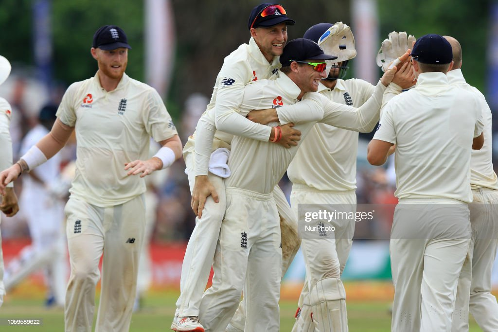 Sri Lanka V England: First Test - Day Four : News Photo