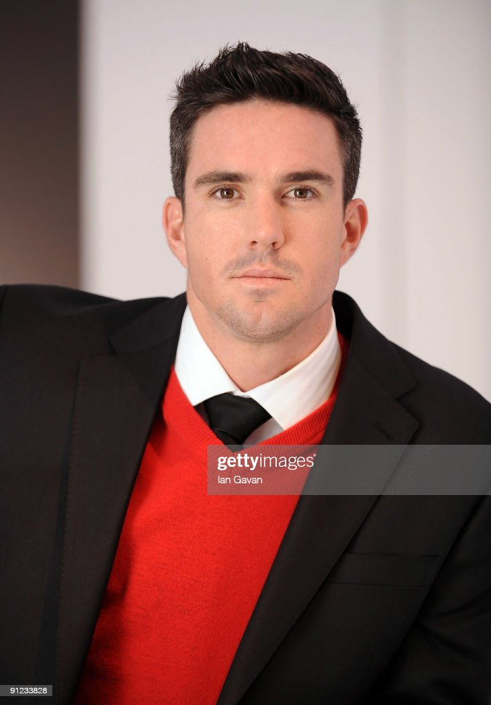 Brylcreem Boy Kevin Pietersen - Photocall