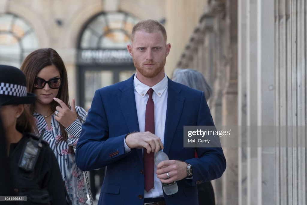 Cricketer Ben Stokes Appears In Court Charged With Affray
