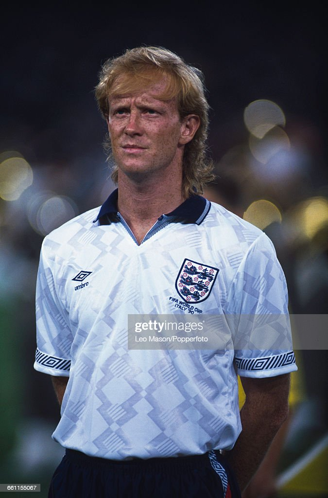 Mark Wright At 1990 World Cup : News Photo