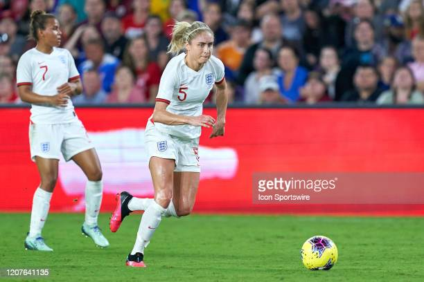 England defender Steph Houghton during the Women's SheBelieves Cup match between the USA and England on March 05, 2020 at Exploria Stadium in...