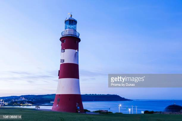 England Devon Plymouth Plymouth Hoe Smeaton's Tower aka Eddystone Lighthouse