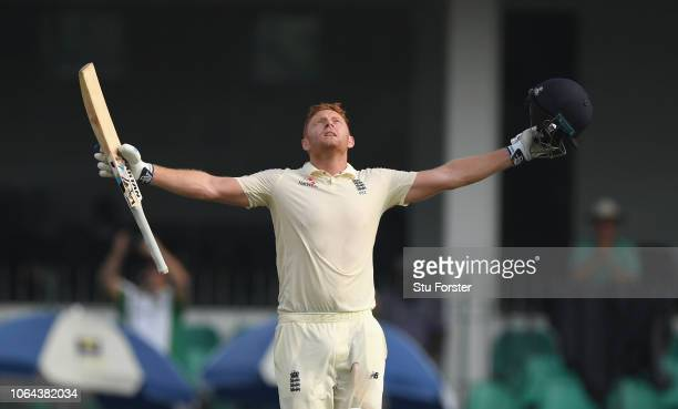 England during Day One of the Third Test match between Sri Lanka and England at Sinhalese Sports Club on November 23, 2018 in Colombo, Sri Lanka.