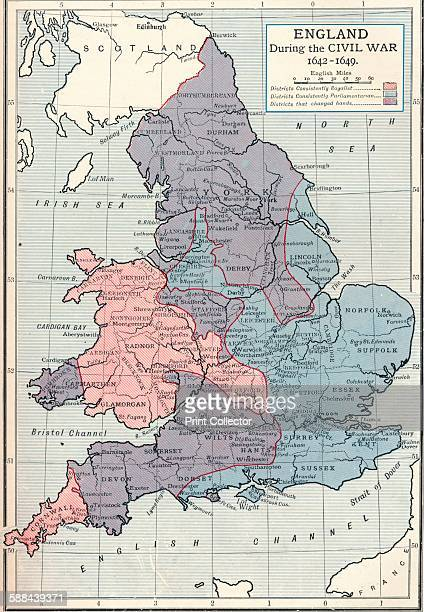 England during the Civil War, 1642-1649 . From Cassell's History of England, Vol. IV,