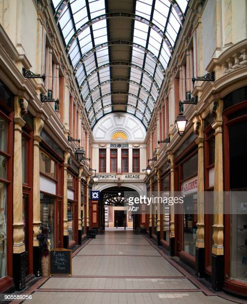 England East Riding of Yorkshire Kingston upon Hull city Hepworth Arcade shops