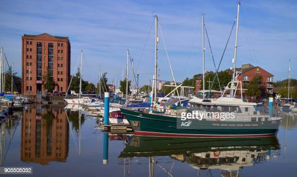 England East Riding of Yorkshire Kingston Upon Hull City The Marina