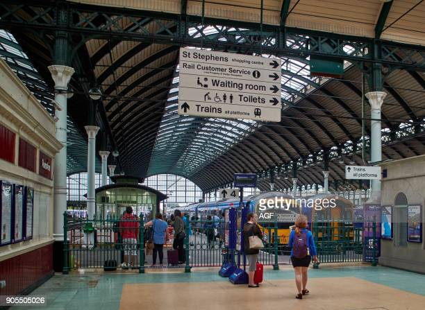 England East Riding of Yorkshire Kingston Upon Hull Cityparagon Railway Station