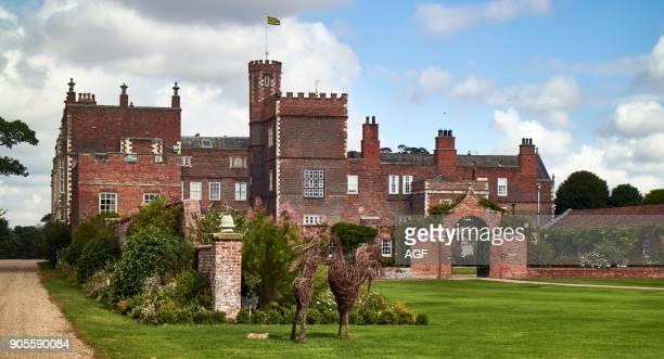 England East Riding of Yorkshire Skirlaugh area Burton Constable Hall large Elizabethan country house in a park with an area of 300 acres Artwork by...