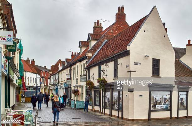 England East Riding of Yorkshire The High Street In Beverley Village