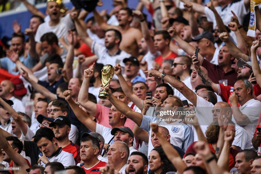 Sweden v England: Quarter Final - 2018 FIFA World Cup Russia : News Photo