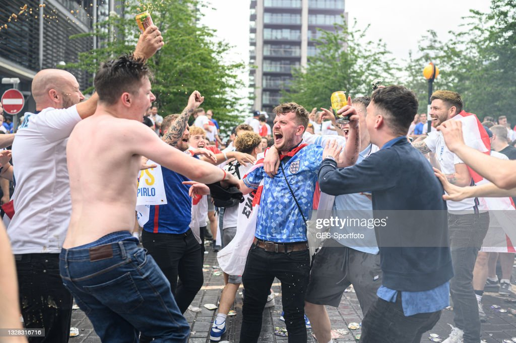 Italy v England - UEFA Euro 2020: Final : Photo d'actualité