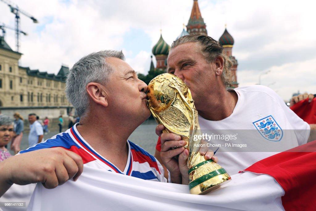 Croatia v England - FIFA World Cup - Semi Final - Luzhniki Stadium : News Photo