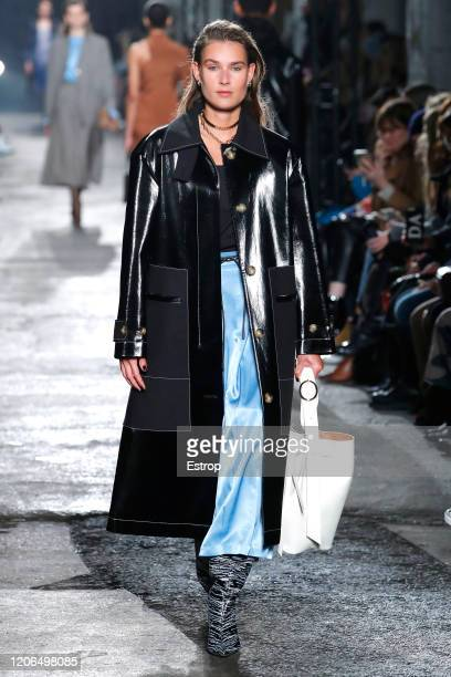 A model walks the runway at the Rejina Pyo show during London Fashion Week February 2020 on February 15 2020 in London England