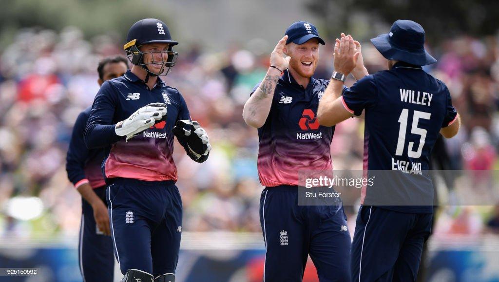 New Zealand v England - 2nd ODI