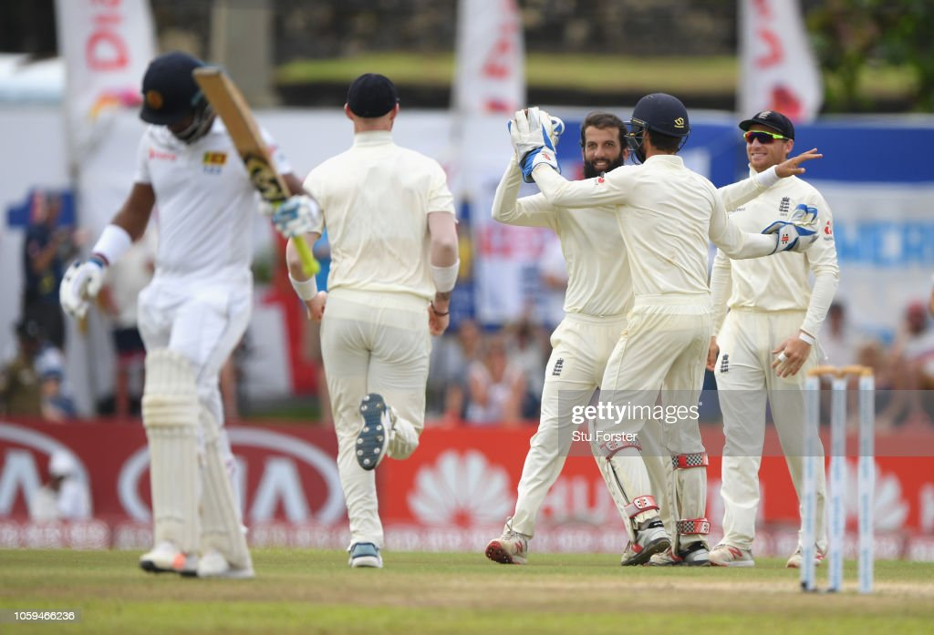 Sri Lanka v England: First Test - Day Four : News Photo