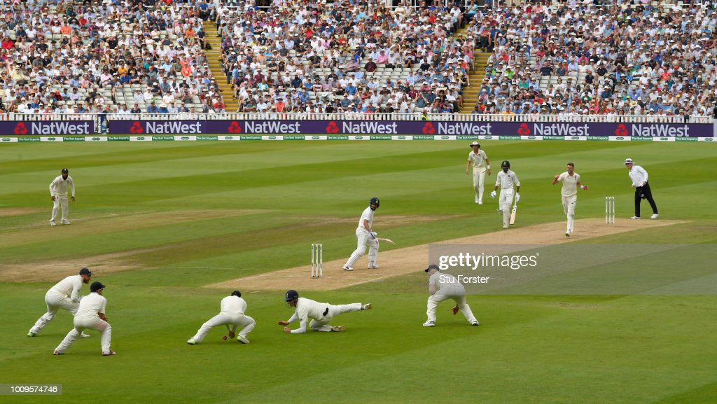 England v India: Specsavers 1st Test - Day Two : News Photo