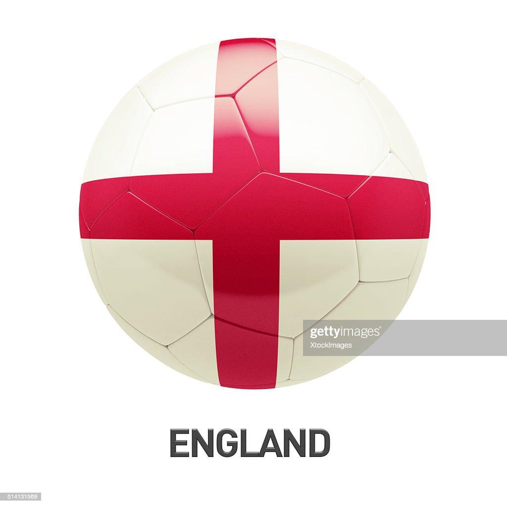 England Flagge Fussballikone Stock Foto Getty Images