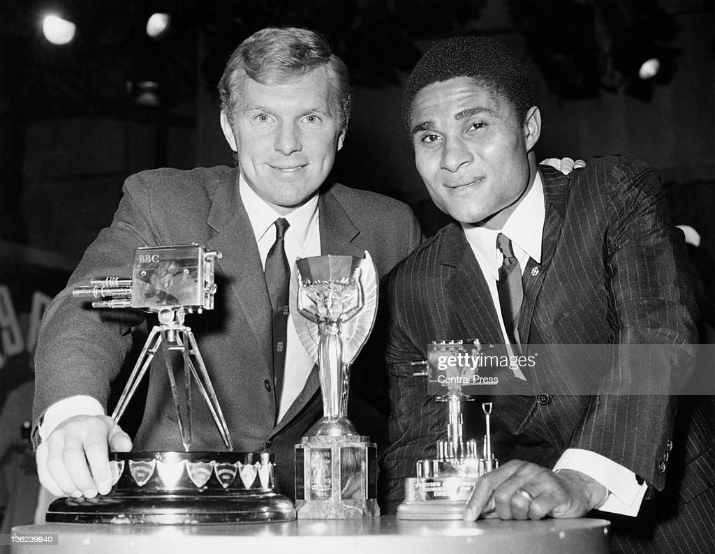 Eusebio And Moore : News Photo