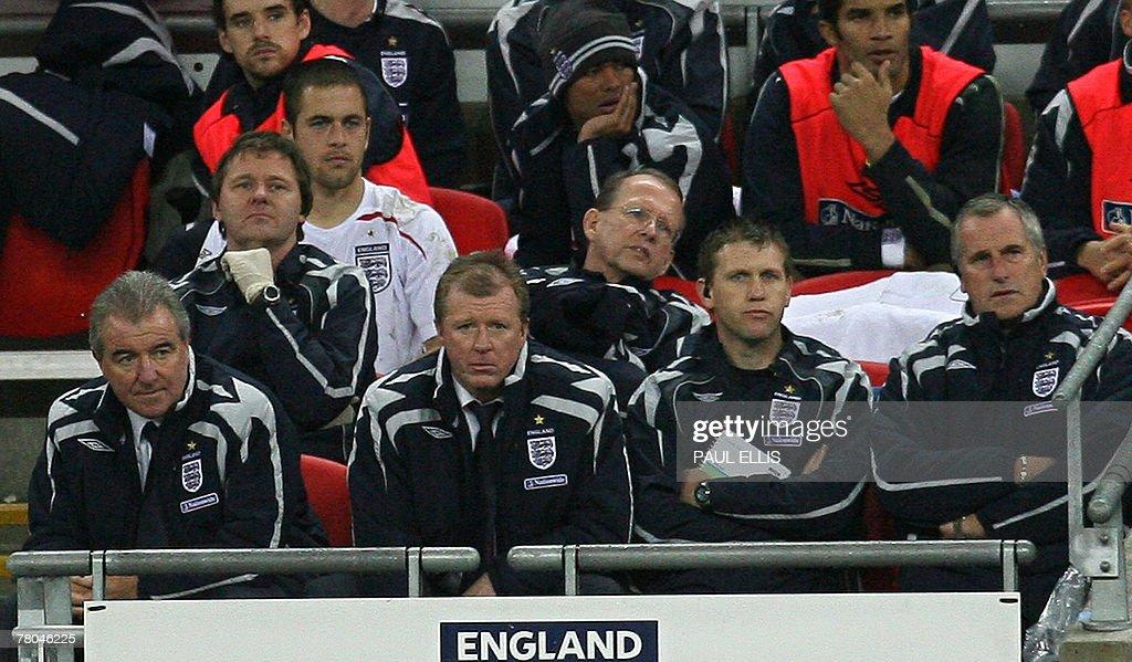 England football manager Steve McClaren : News Photo