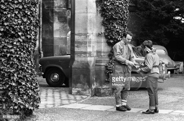 England football team training at Lilleshall ahead of the international match against Scotland Jimmy Greaves signs an autograph for a young fan 9th...
