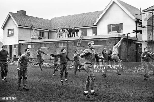 England football team training session at Bellefield training complex in Liverpool ahead of their international friendly match against Poland Players...