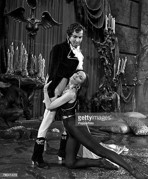England French ballerina Ludmilla Tcherina and Robert Helpmann are pictured in a scene from the film Tales of Hoffman