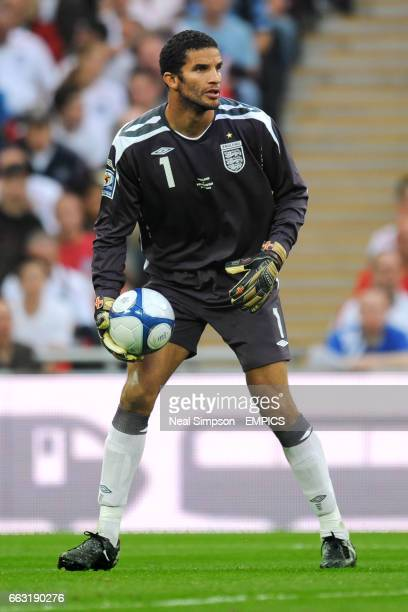 England goalkeeper David James