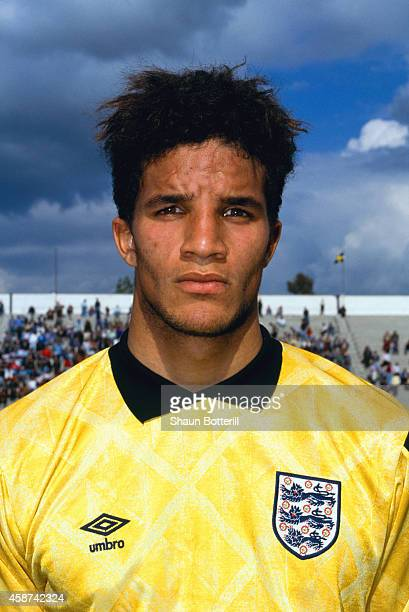 England goalkeeper David James pictured before an Under 21 game between Turkey and England in Izmir on April 30, 1991 in Turkey.