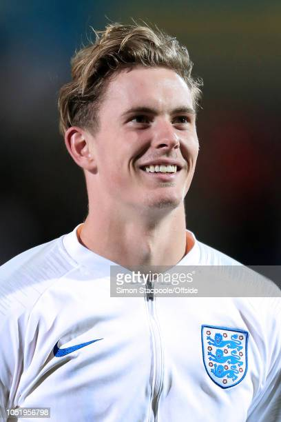 England goalkeeper Dean Henderson looks on ahead of the 2019 UEFA European Under21 Championship Group 4 Qualifier between England and Andorra at the...
