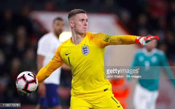 England goalkeeper Dean Henderson