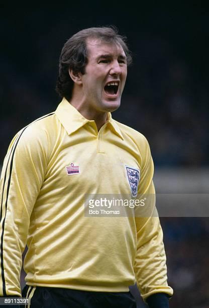 England goalkeeper Joe Corrigan during the British Championship match against Scotland at Wembley Stadium May 23rd 1981 Scotland won 10