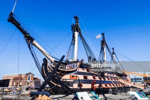 England Hampshire Portsmouth Portsmouth Historic Dockyard HMS Victory