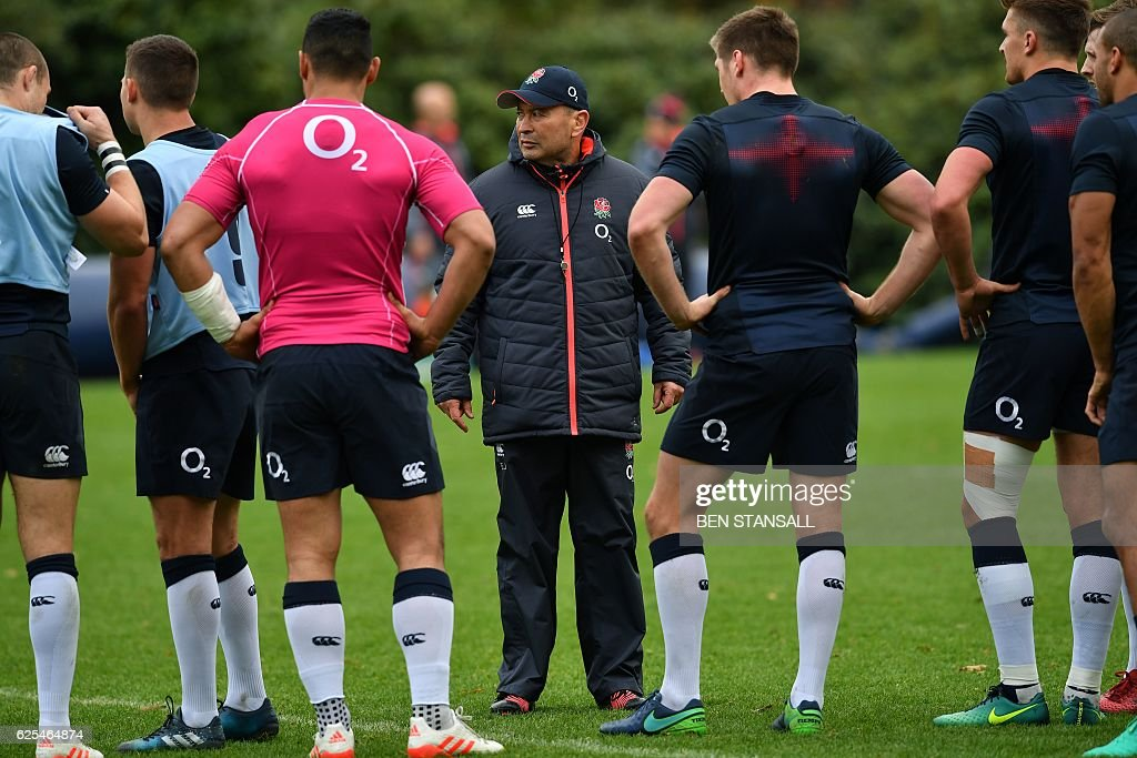 RUGBYU-ENG-TRAINING : News Photo