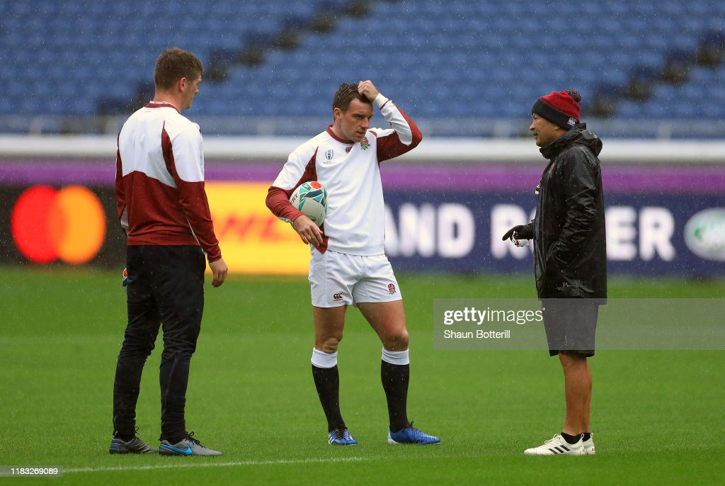 England Captain's Run & Press Conference : ニュース写真