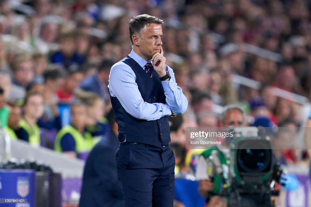 SOCCER: MAR 05 Women's SheBelieves Cup - USA v England : News Photo